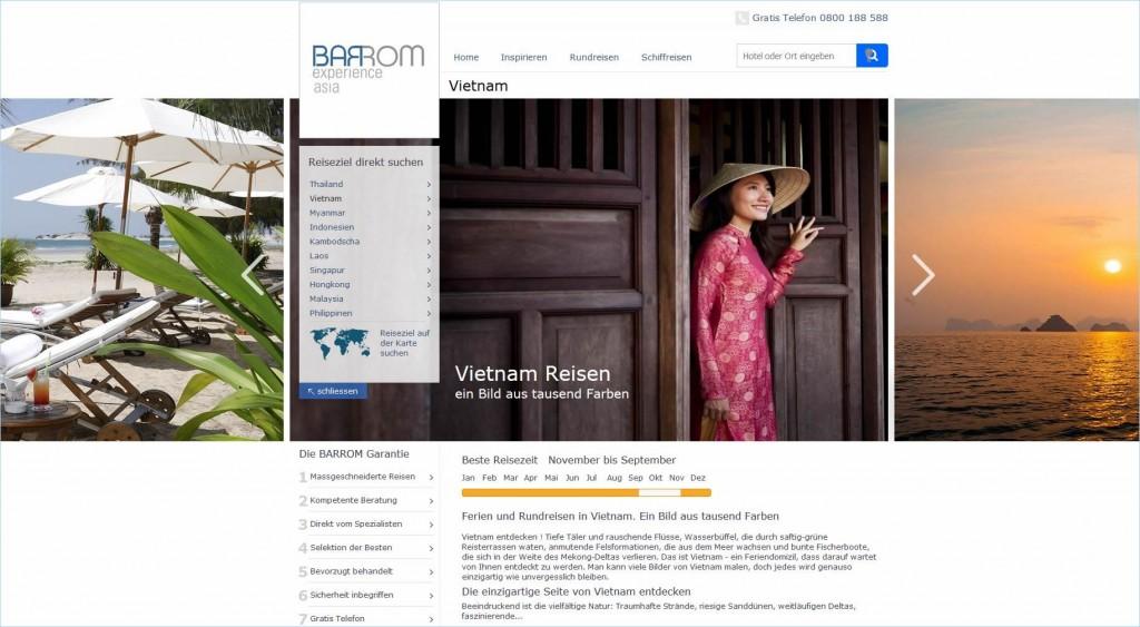 Barrom Reisen: Der Schweizer Vietnam-Spezialist