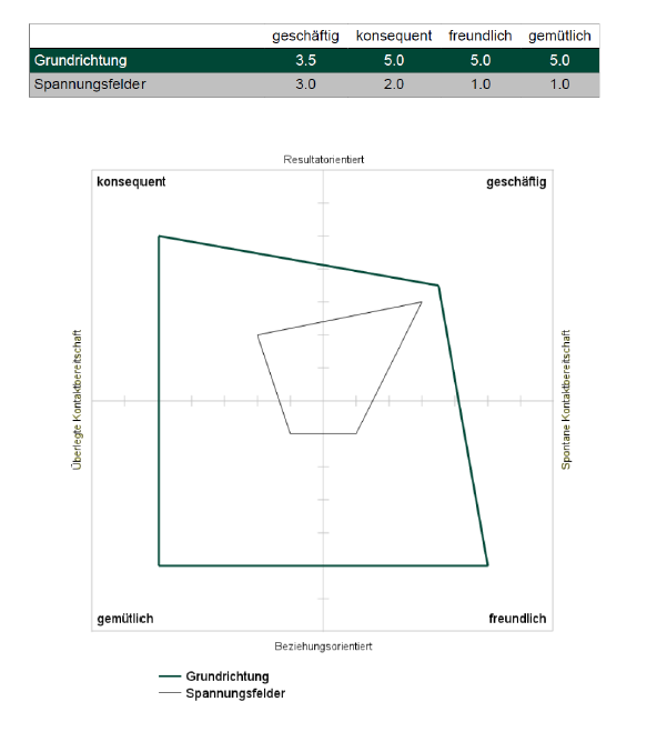Der GPI-Personelichkeitstest: Grundformen der Persönlichkeit entdecken