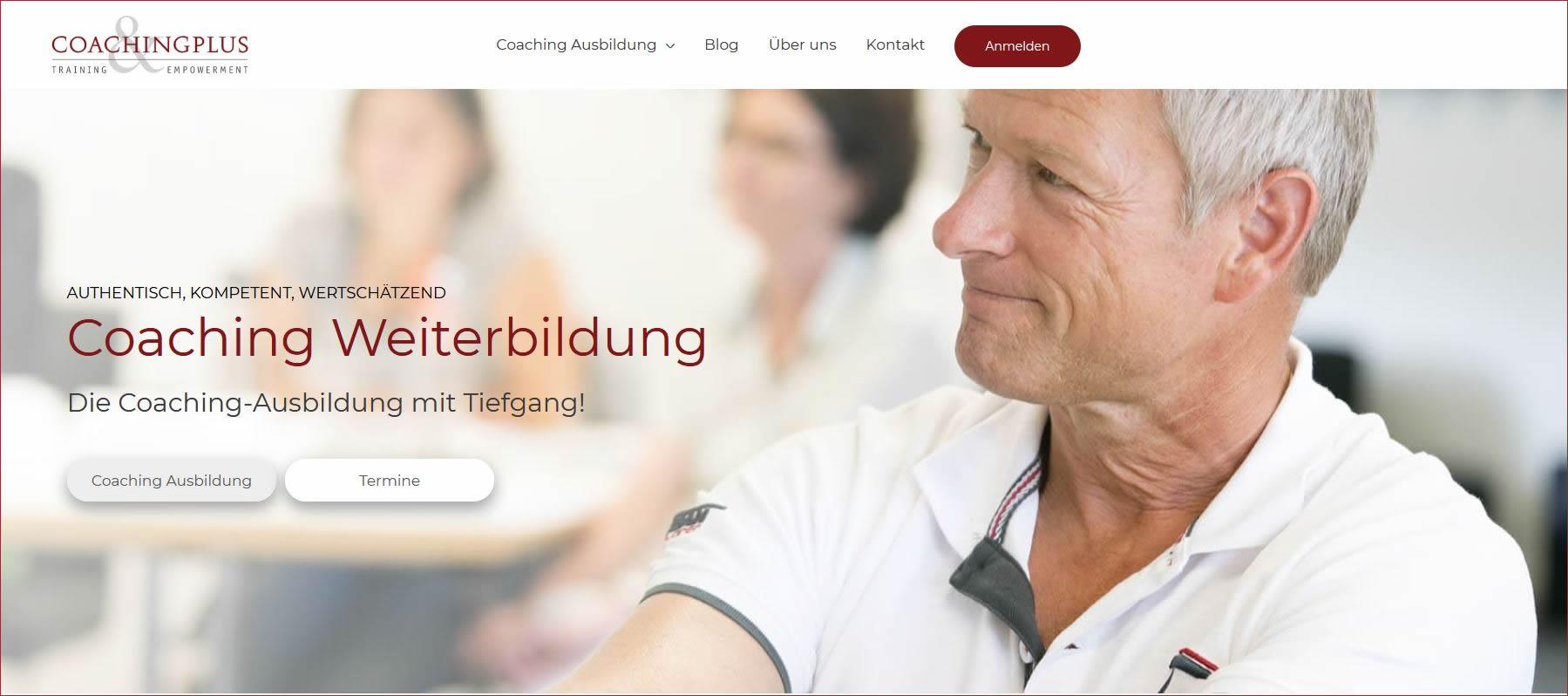 Coachingplus.ch: Studiengang für angewandtes Coaching