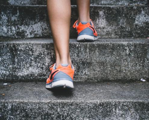 Treppen steigen - Fitness im Alltag
