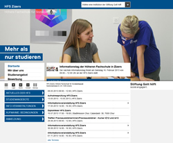 Höhere Fachschule für Sozialpädagogik HF