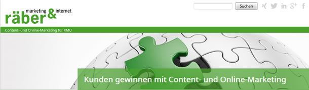 räber marketing & internet GmbH: Suchmaschinenoptimierung, Online- und Content-Marketing